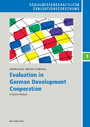 Evaluation in German Development Cooperation - A System Analysis