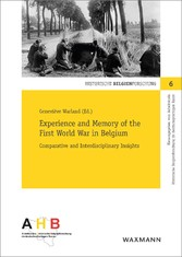 Experience and Memory of the First World War in Belgium - Comparative and Interdisciplinary Insights
